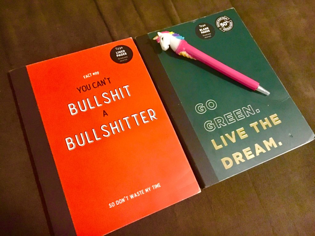 オーストラリアtypoのノートとペン