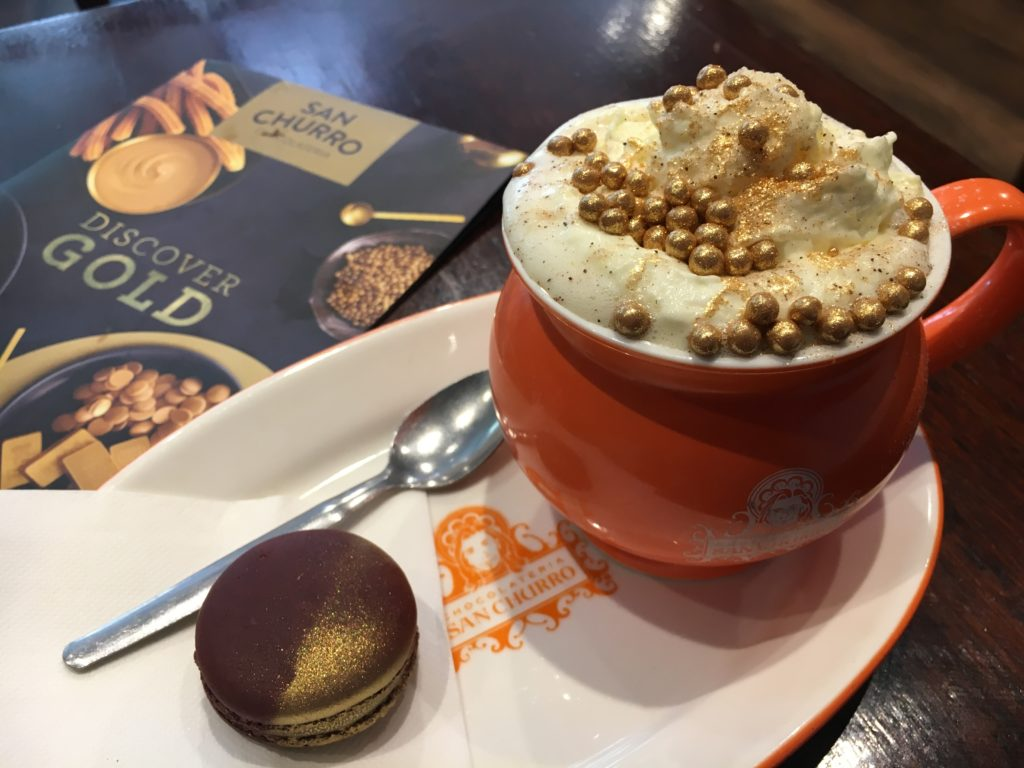 san churro ゴールデンチョコレート