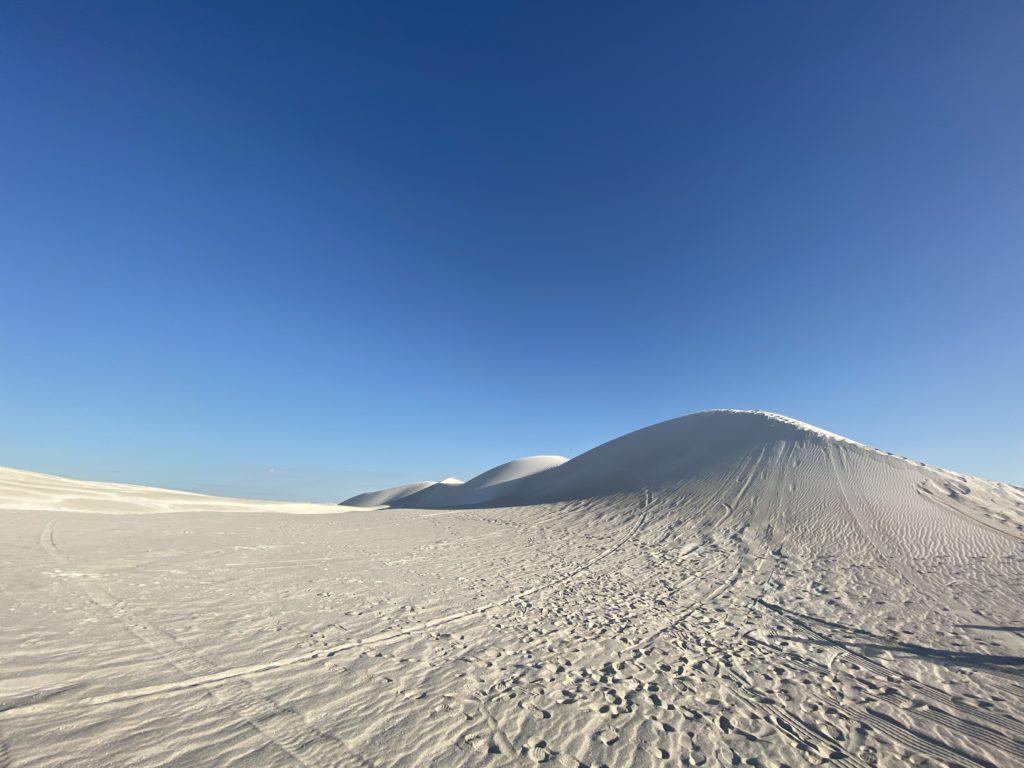 オーストラリアのパースにある白い砂漠ランセリンの写真