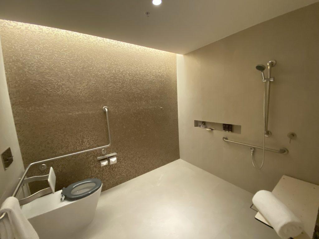 高級ホテルのザリッツカールトン パースのトイレ