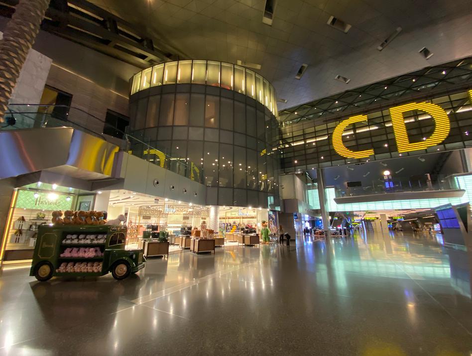 ハマド空港の営業店