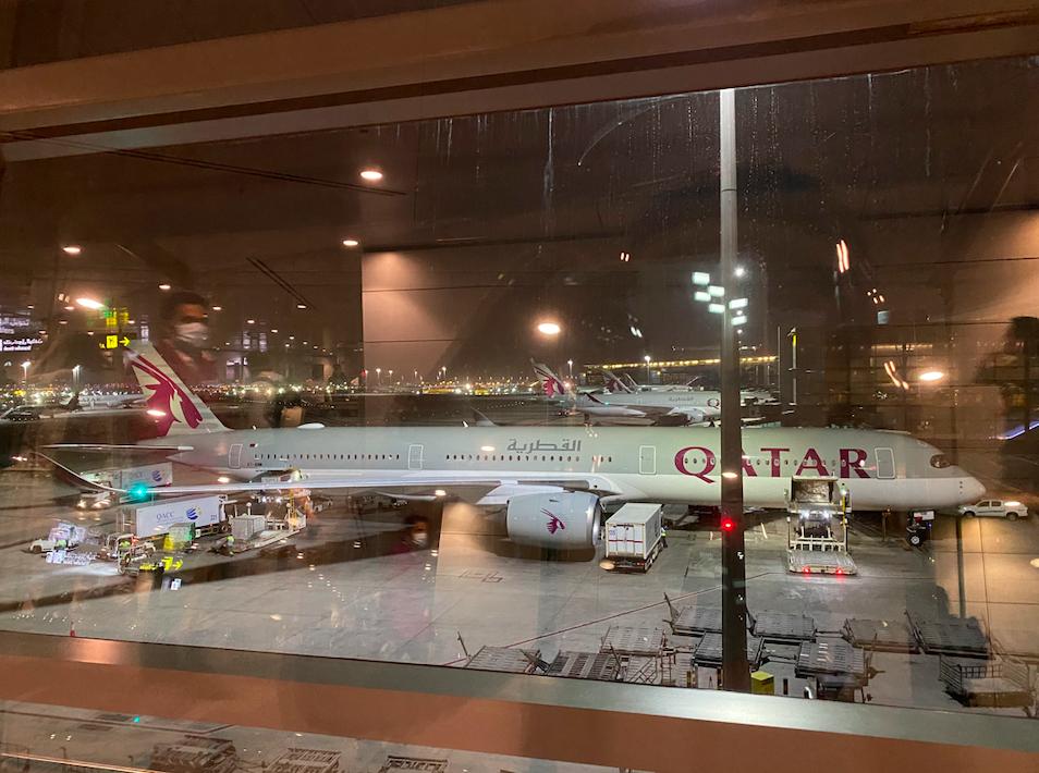カタール航空の外観