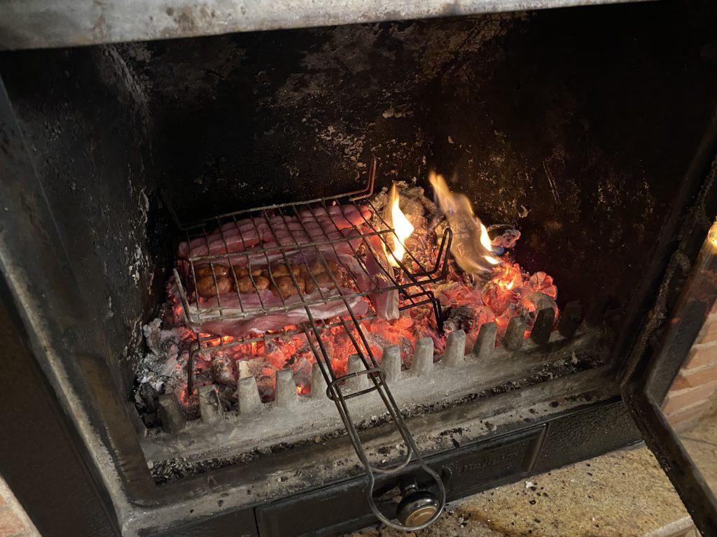 スペイン人宅の暖炉