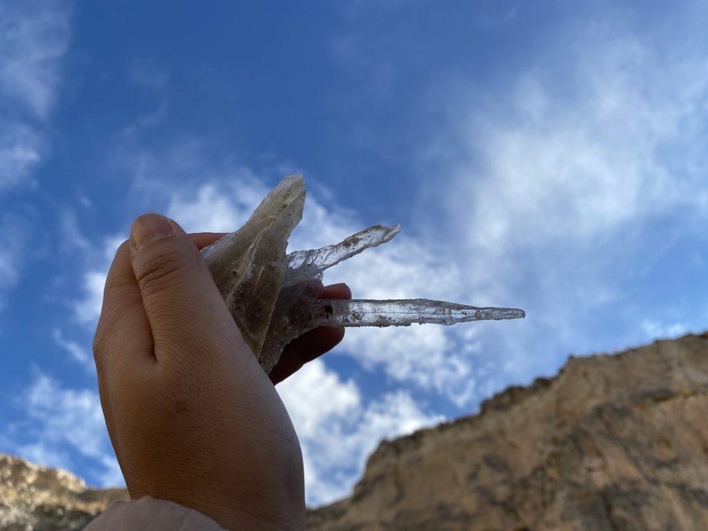 スペインでオーペア中に見つけたクリスタル